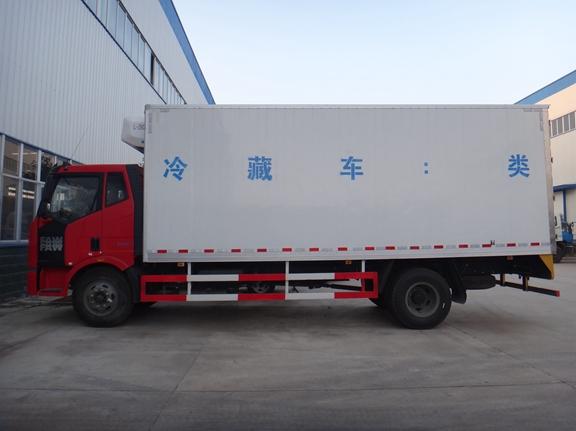 解放冷藏车解放J6--6.8米冷藏车图片