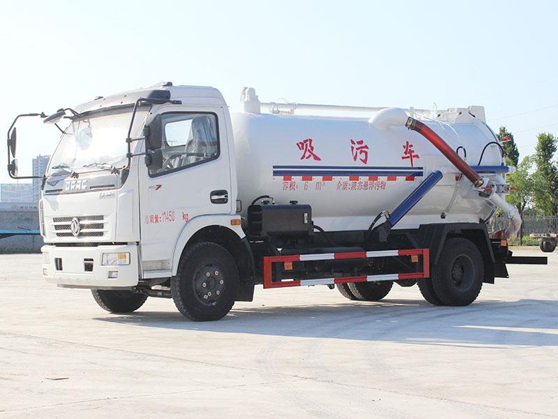 东风大多利卡8吨吸污车图片