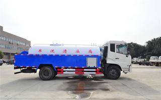 东风天锦高压清洗车图片