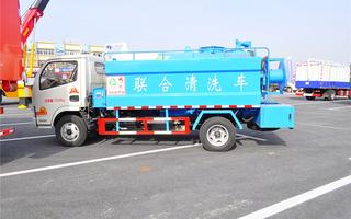 东风福瑞卡联合清洗车图片