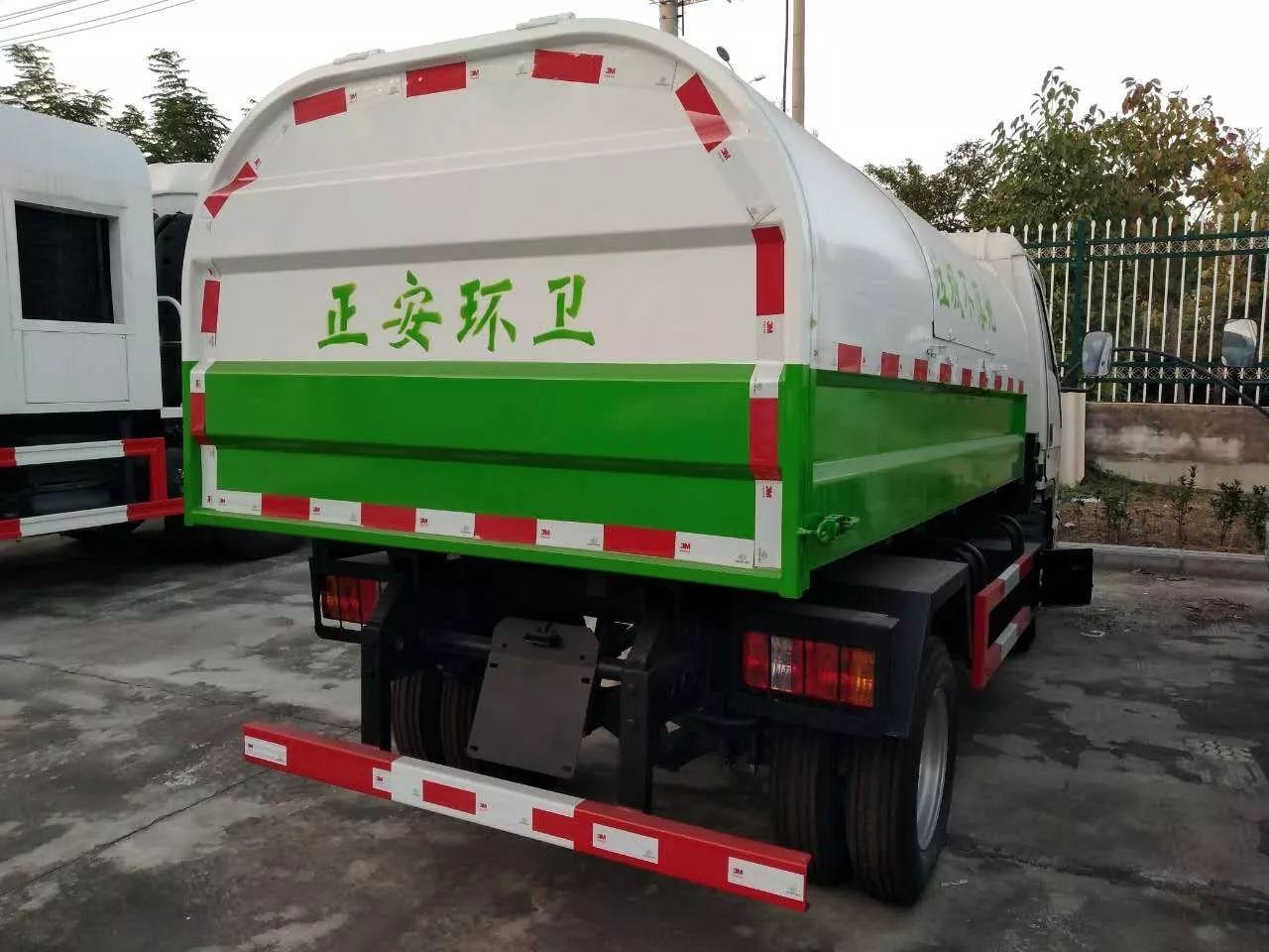福田小型勾臂垃圾车图片