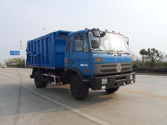 东风153EQ1168GLJ3国IV对接垃圾车图片
