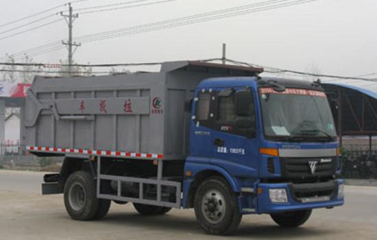 对接式垃圾车图片
