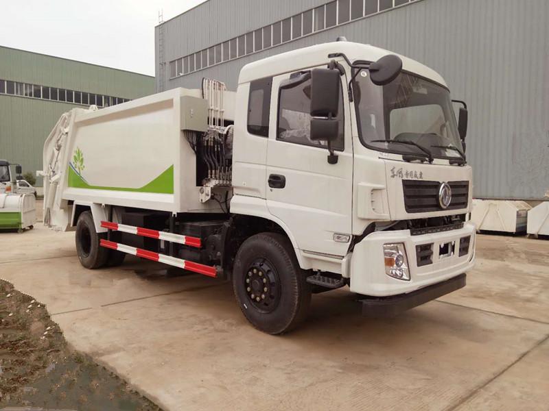 东风专底压缩式垃圾车(国五10-12方)