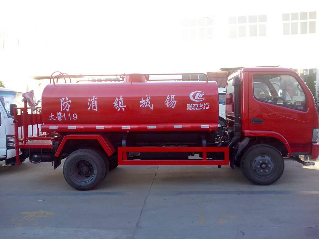 东风8吨消防洒水车图片