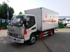 易燃液体厢式运输车制造说明、技术要求