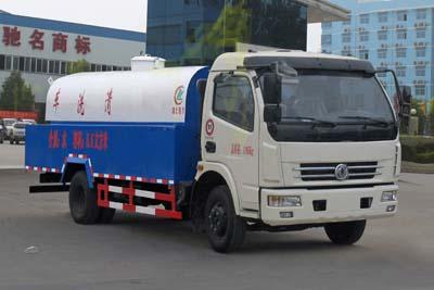 东风6方高压清洗车(管道疏通车)图片