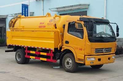 东风大多利卡清水罐2.5吨污水罐5.5吨清洗吸污车(联合疏通车)