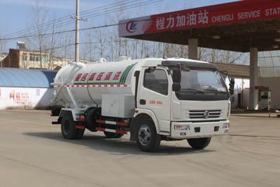 东风8吨清洗吸污车(联合疏通车)