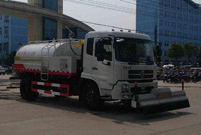 东风153新款10吨高压清洗车/路面高压清洗车