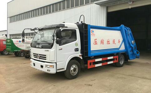 东风8吨压缩式垃圾车图片