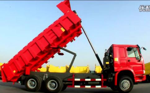 中国重汽自卸车