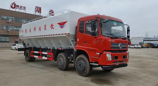 东风天锦15吨电动散装饲料车