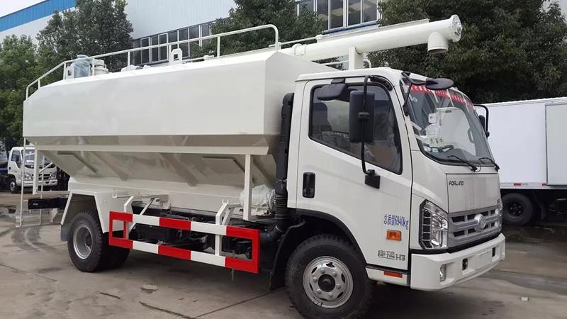 福田时代12吨散装饲料车图片