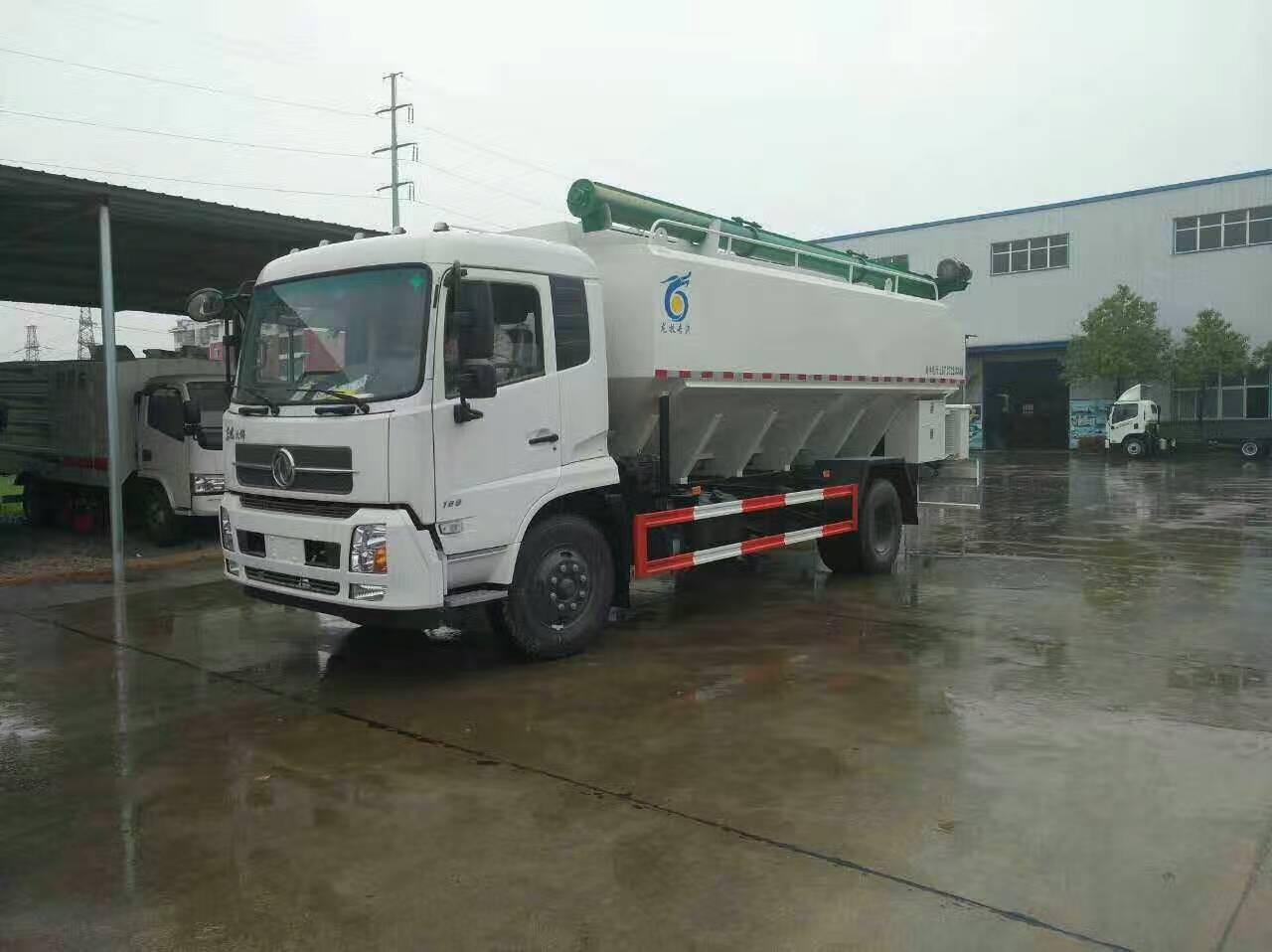 东风天锦23吨散装饲料车图片