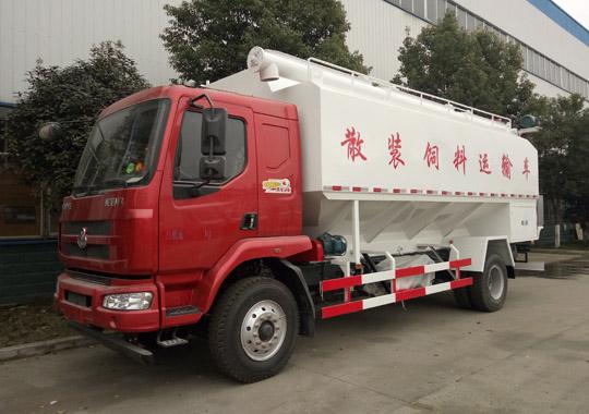 柳汽乘龙12吨散装饲料车