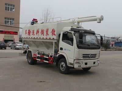 东风多利卡12吨散装饲料车图片