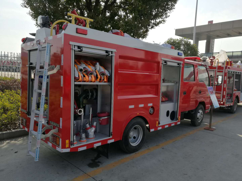 WHG5070GXFSG20-B型水罐消防车3