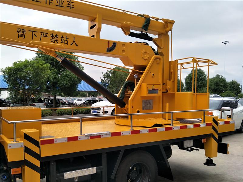 东风16米高空作业车图片