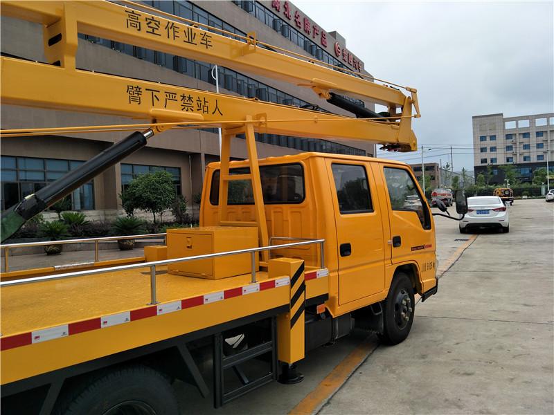 江铃14米高空作业车图片