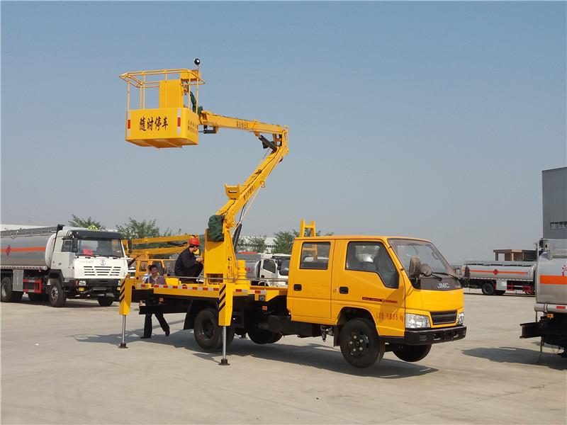 江鈴16米高空作業車圖片