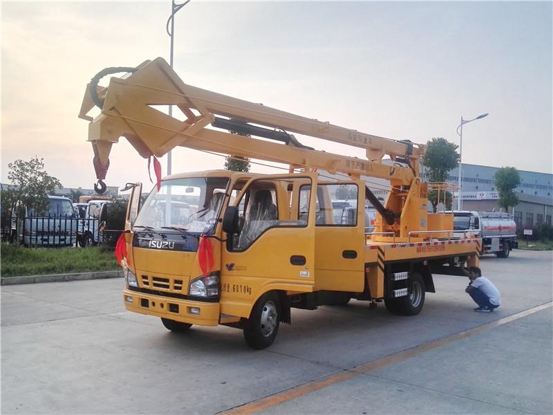 五十铃18米高空作业车图片
