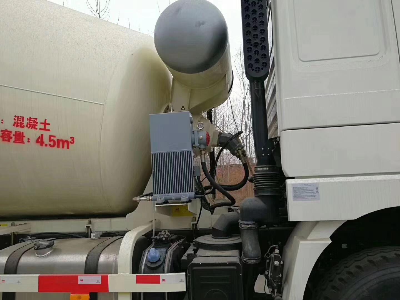陕汽德龙12方混凝土搅拌运输车
