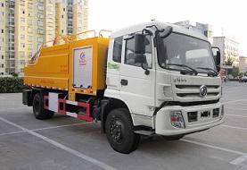 天锦清水3吨污水8吨清洗吸污车
