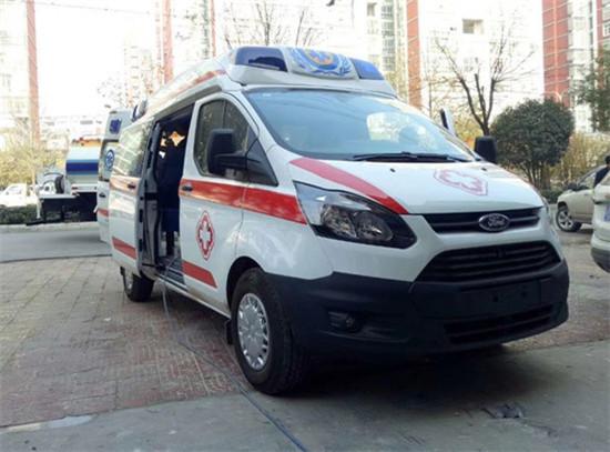 福特救护车福特新全顺长轴救护车图片