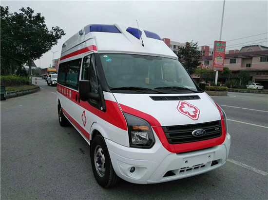 福特救护车福特新世代高顶(长轴)救护车