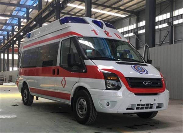 福特救护车福特V348长轴救护车(超人)