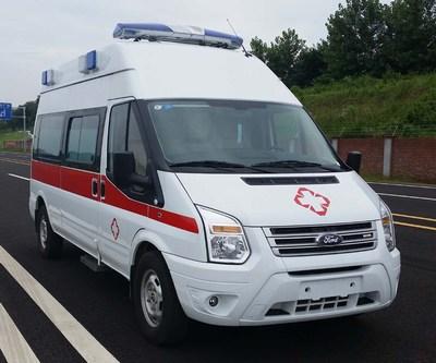 蓝港牌XLG5048XJHCY5型救护车
