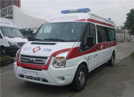 福特救护车福特新世代长轴救护车(监护型/运输型)