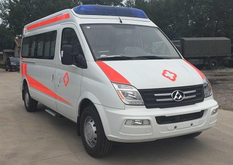 大通V80长轴救护车图片