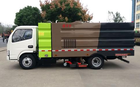 多利卡干湿8吨吸尘车视频
