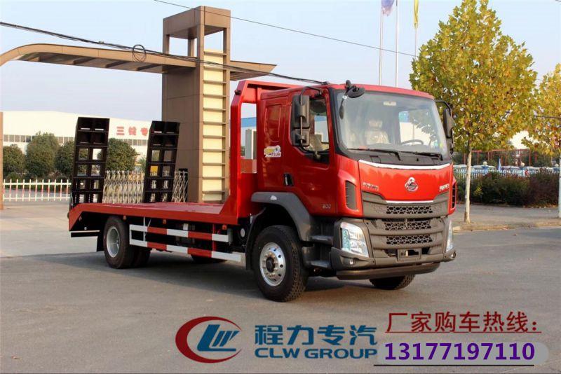 东风柳汽16吨平板运输车