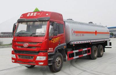 解放捍威20吨油罐车