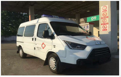 福特江铃特顺救护车 江铃福特救护车  救护车图片