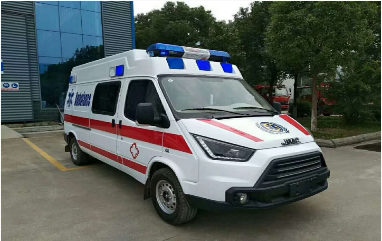 福特救护车经典全顺长轴运输型救护车图片