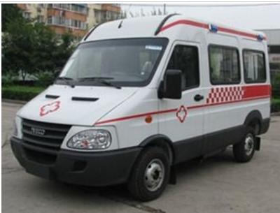 依维柯救护车宝迪A32救护车图片
