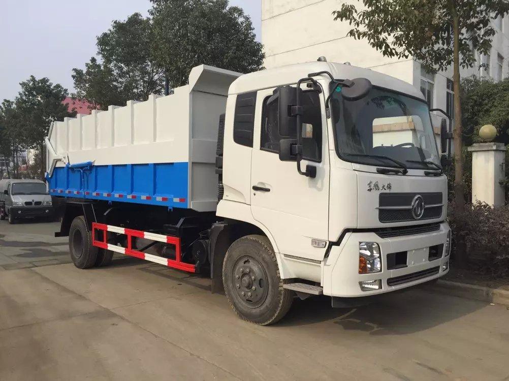 東風天錦CLW5163ZDJD5型壓縮式對接垃圾車