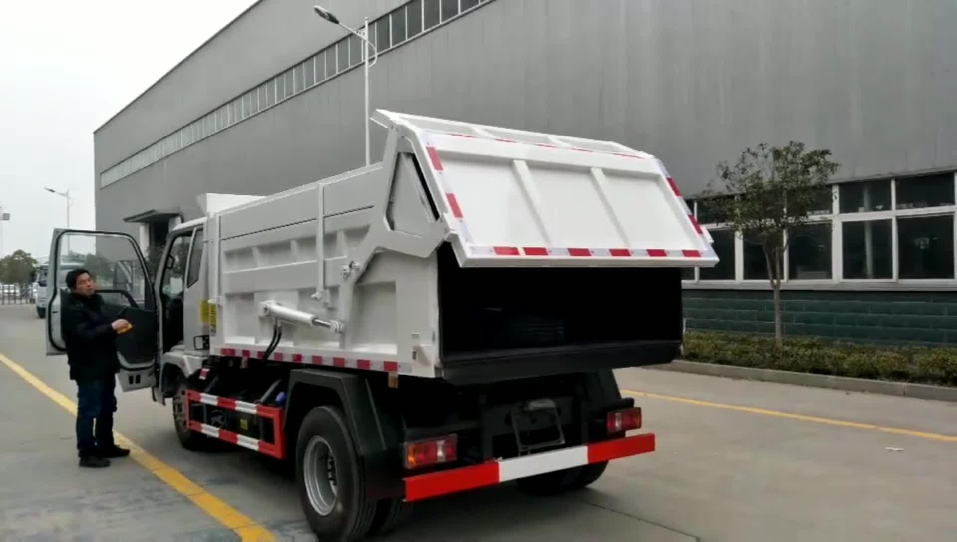 5方式垃圾车视频