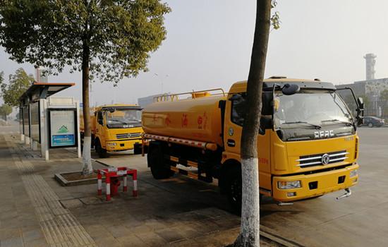 吉林省东风多利卡8吨多功能洒水车价格