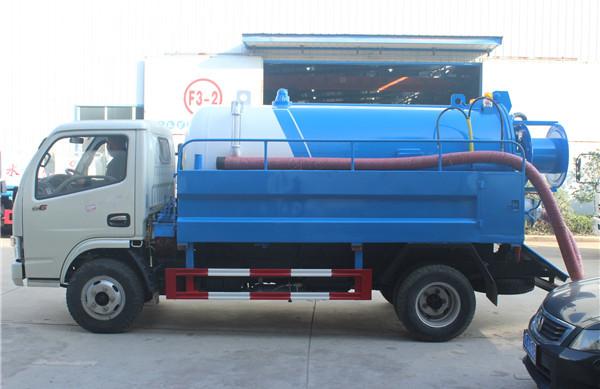藍牌東風小多利卡清洗吸污車