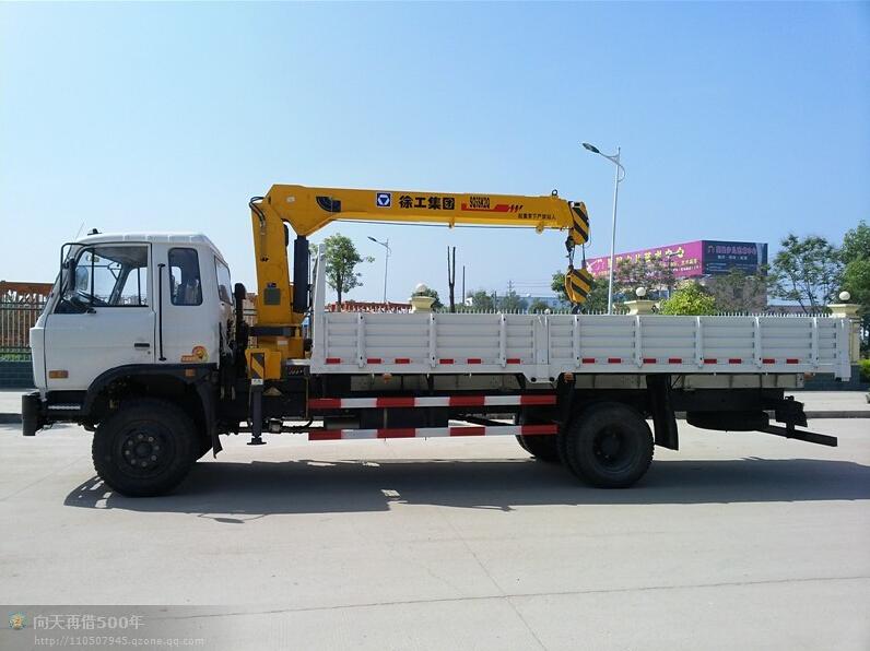 東風153徐工8噸隨車吊圖片