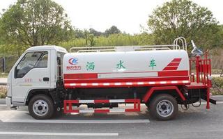 福田洒水车5吨洒水车图片
