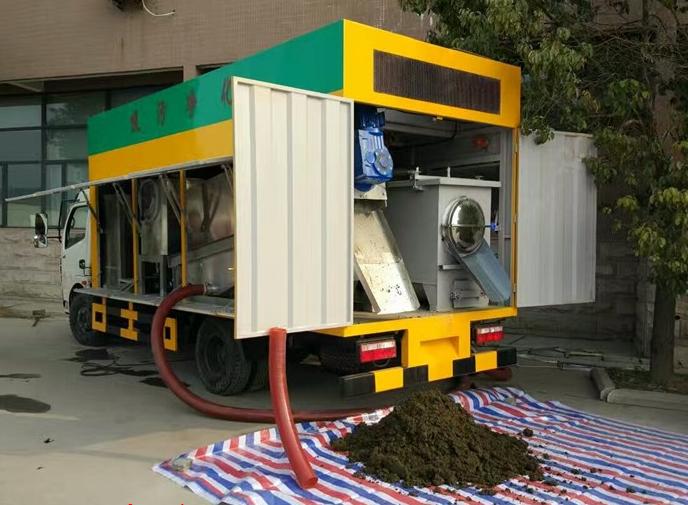 东风污水处理净化车2