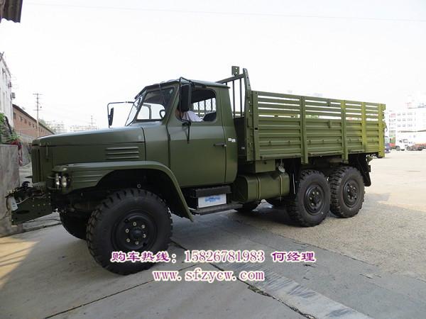 EQ2082E6D东风尖头越野货车
