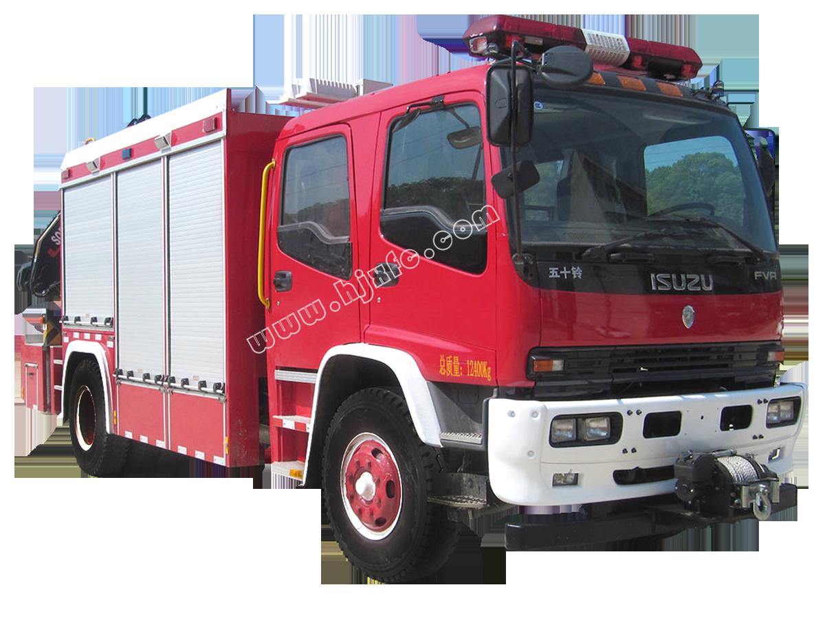 HXF5120TXFJY80/QL搶險救援消防車
