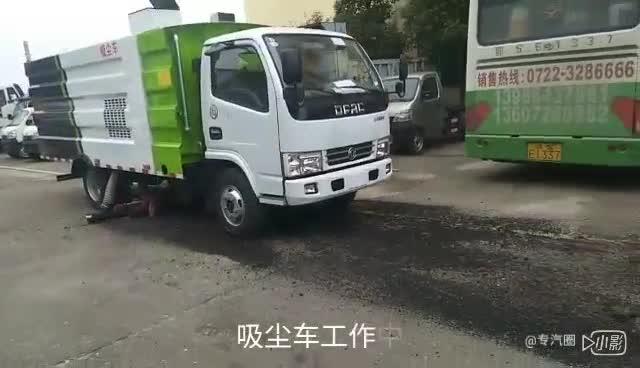 东风吸尘车